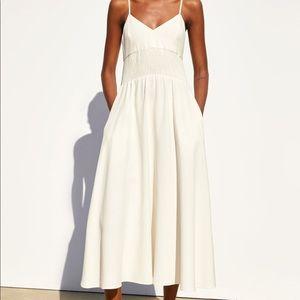 Zara Rustic linen dress